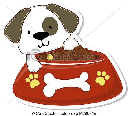 Clipart dog food 1 » Clipart Portal.