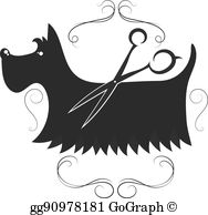 Homey Inspiration Dog Grooming Clipart.
