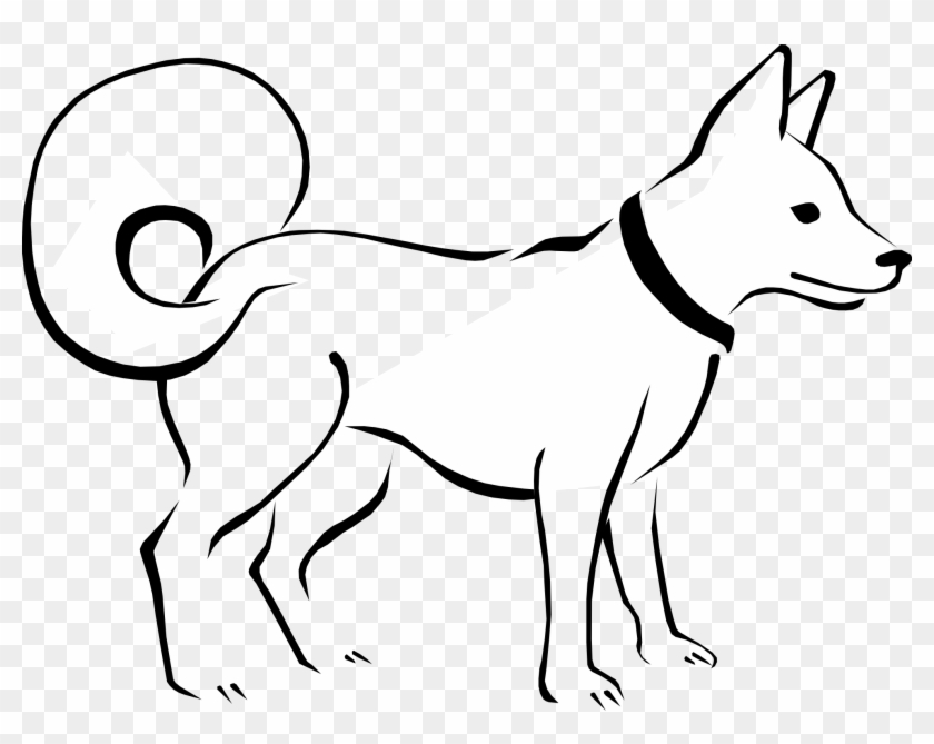 Pin Pets Clipart Outline.