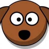 clipart dog head #18