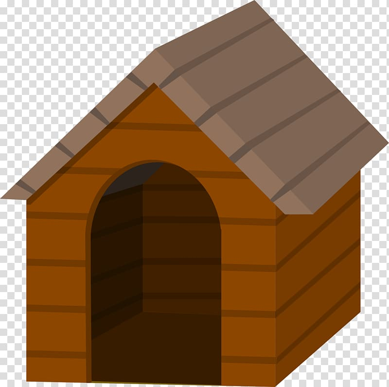 Dog Houses Kennel , cartoon house transparent background PNG.