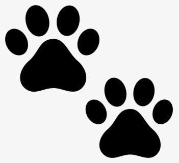 Free Dog Paws Clip Art with No Background.