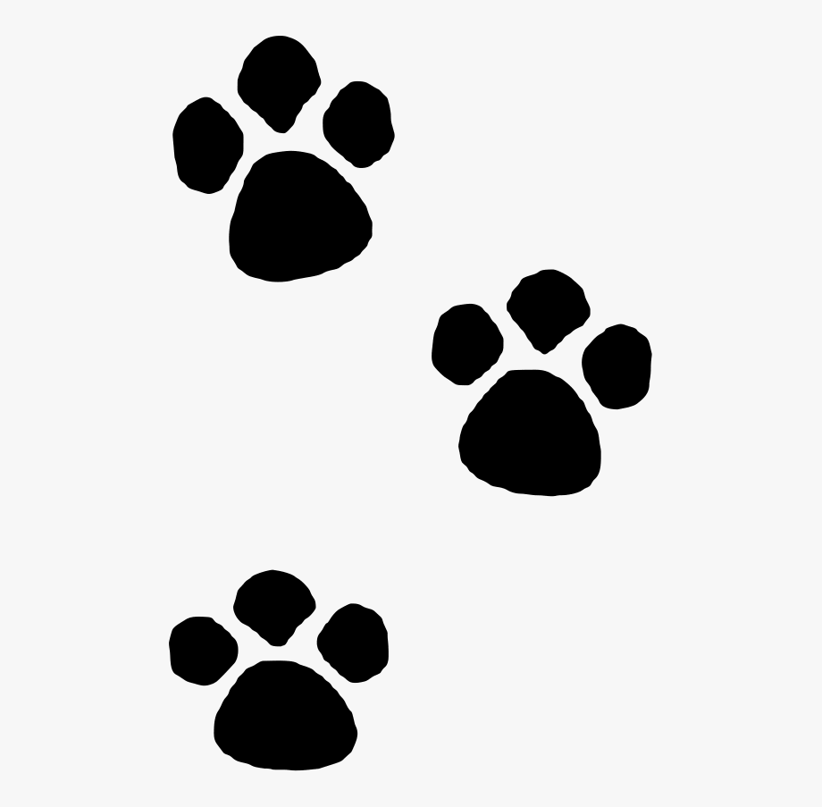 Pawprint Clipart Cute.