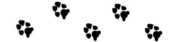 Dog paw print stamps dog prints clip art clipartcow 4.