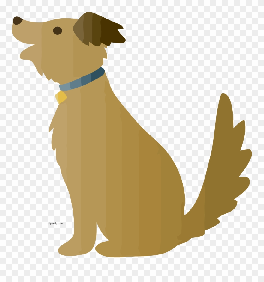 A Brown Cartoon Dog Begging For Food Clipart Png.