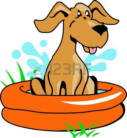 372 Dog Swimming Stock Vector Illustration And Royalty Free Dog.