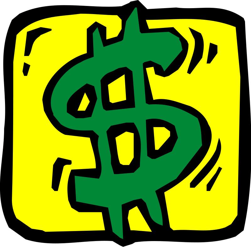Dollar Sign Border Clip Art.