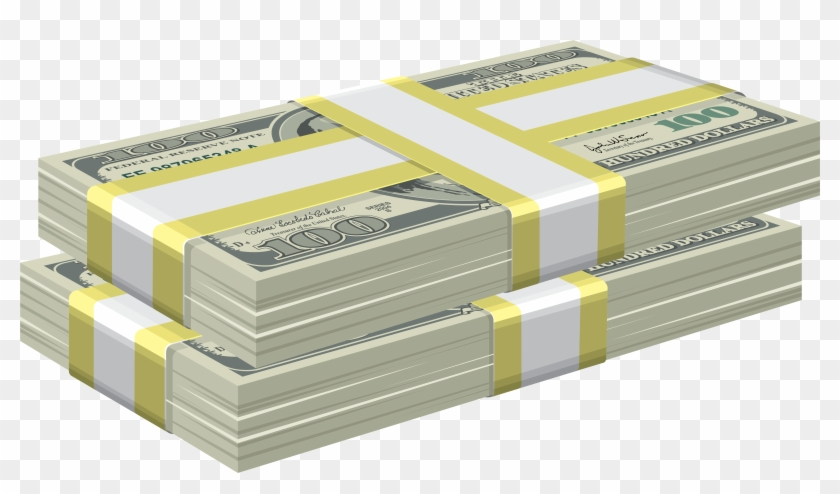 Bundles Of Dollars Png Clipart Image.