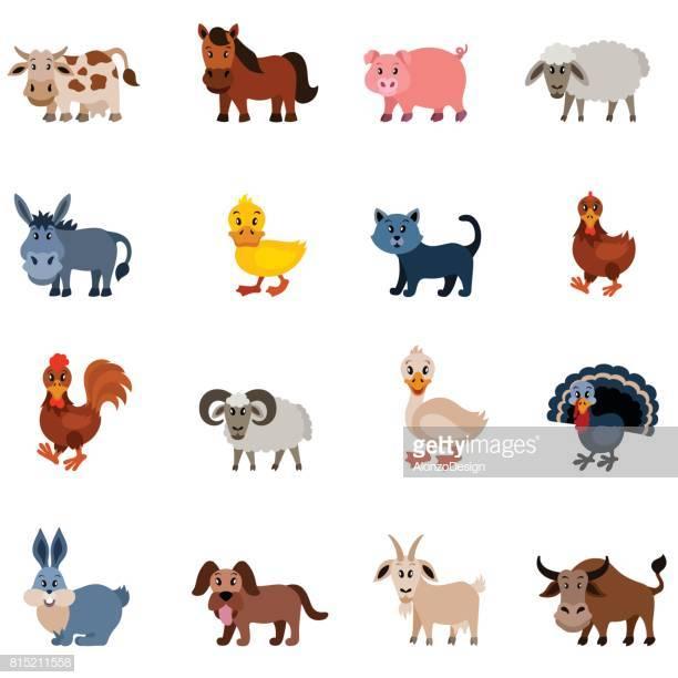 60 Top Domestic Animals Stock Illustrations, Clip art, Cartoons.