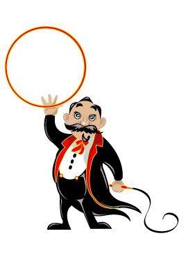 stickers cirque : Dodo Le Dompteur.