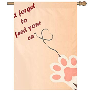 Amazon.com : Don\'t Forget to Feed Your Cat Clip Art Welcome.