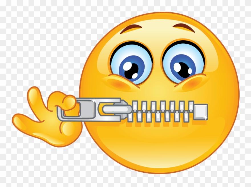 Don T Talk Emoji Clipart (#1749985).