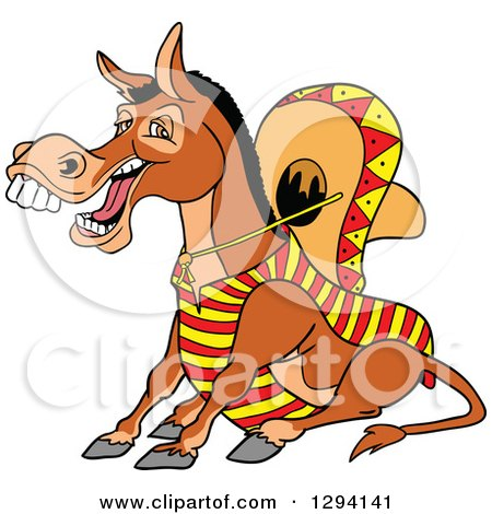clipart donkey laughing #13