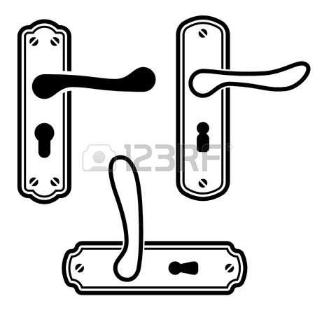 clipart door handle #16