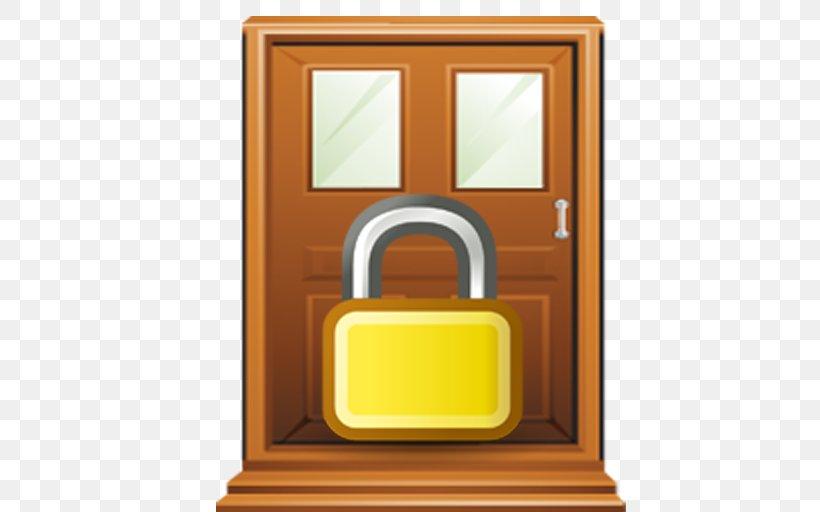 Lock Door Handle Gate Clip Art, PNG, 512x512px, Lock, Door.