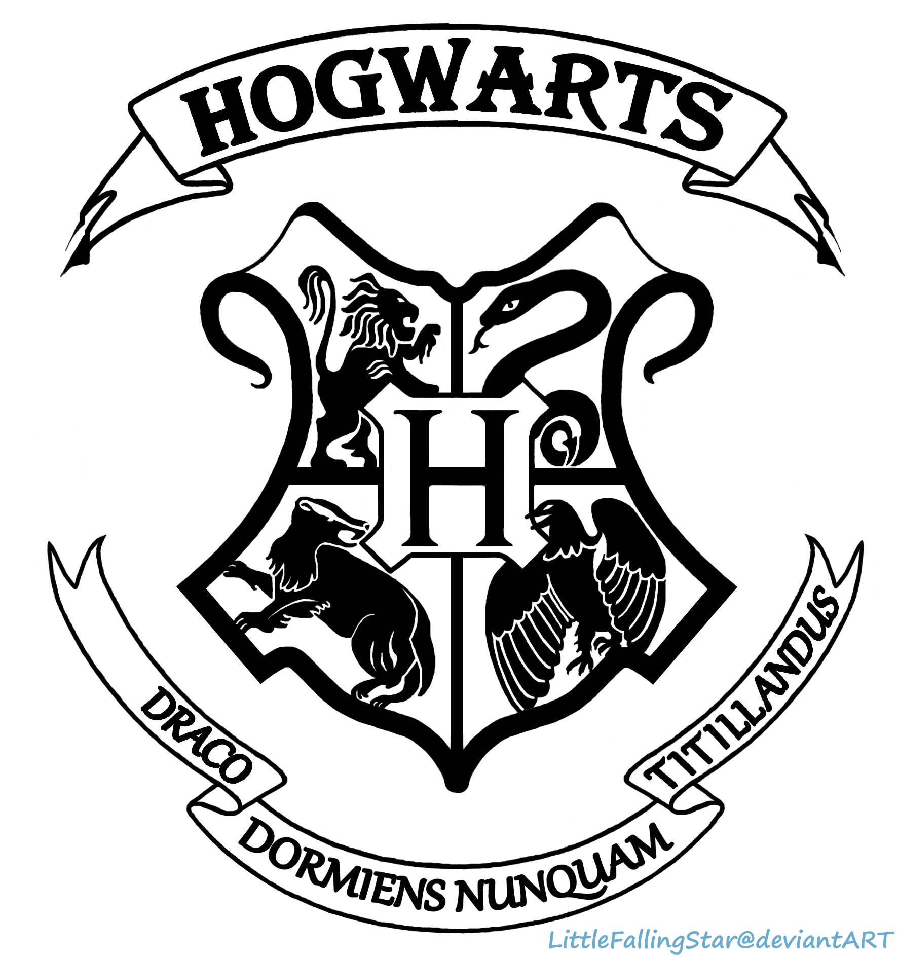 1094 Hogwarts free clipart.