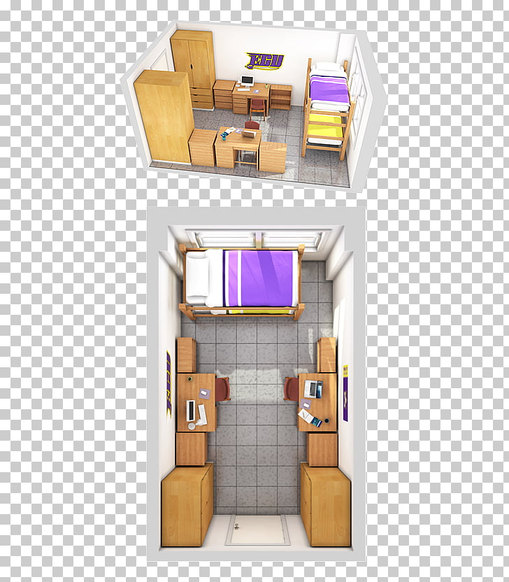 Campus Living Office Dormitory University Student Floor plan.