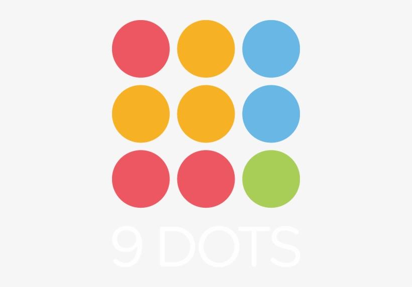 Dots Clipart Nine.
