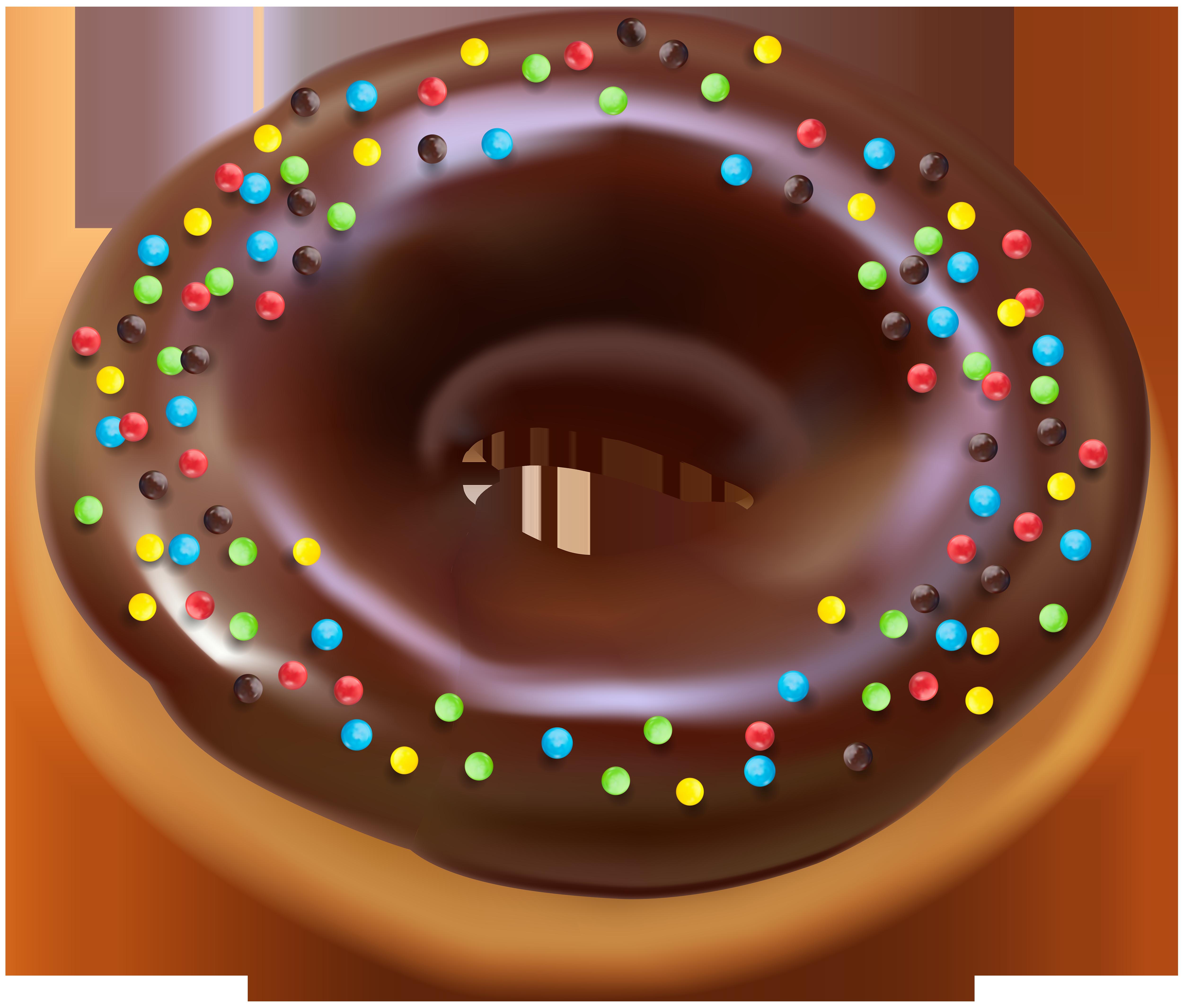 Donut PNG Clip Art Image.