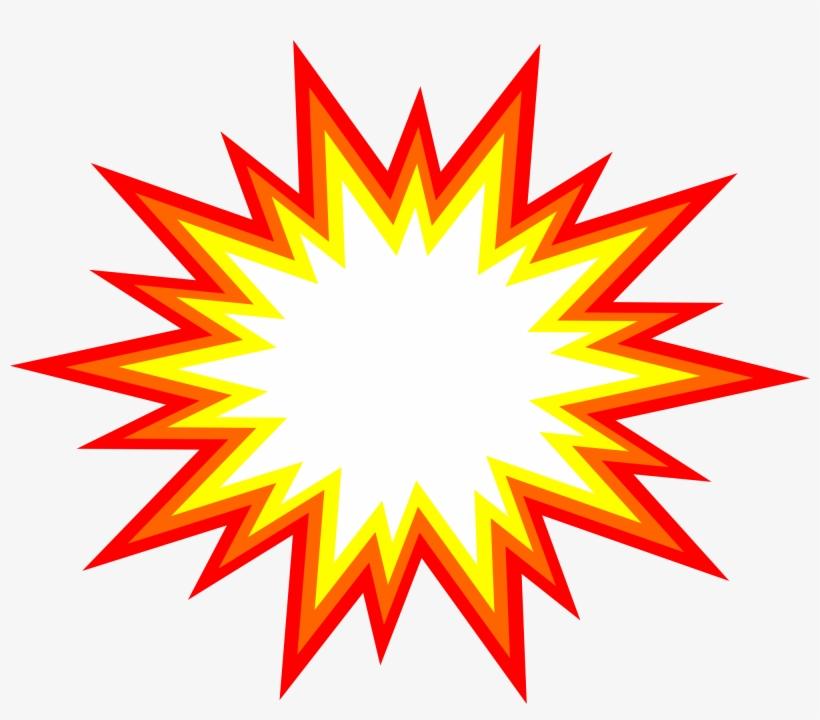 Freeuse Download Starburst Explosion Comic Png Transparent.