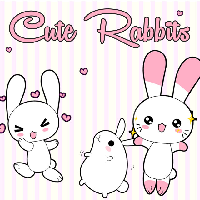 Download the New Rabbits ClipArt Package!.