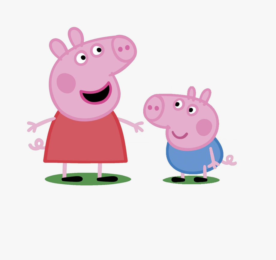 Peppa Pig Hd Clipart , Png Download.