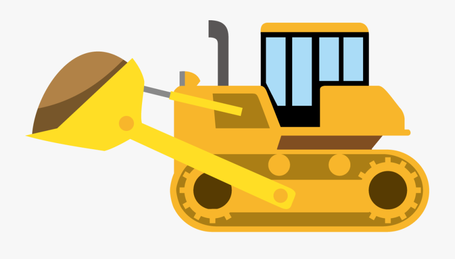Cat Clipart Bulldozer.