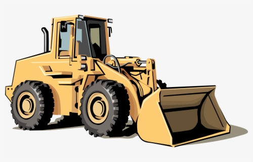 Free Bulldozer Clip Art with No Background.