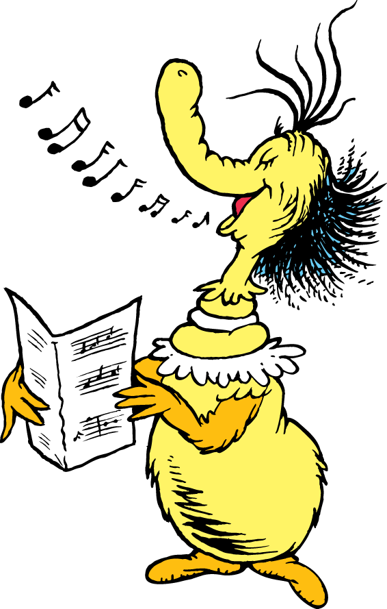 The Singing Thing Dr Seuss Wiki FANDOM Powered By Wikia Quirky.