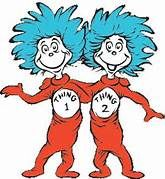 clip art of Dr. Suess characters.