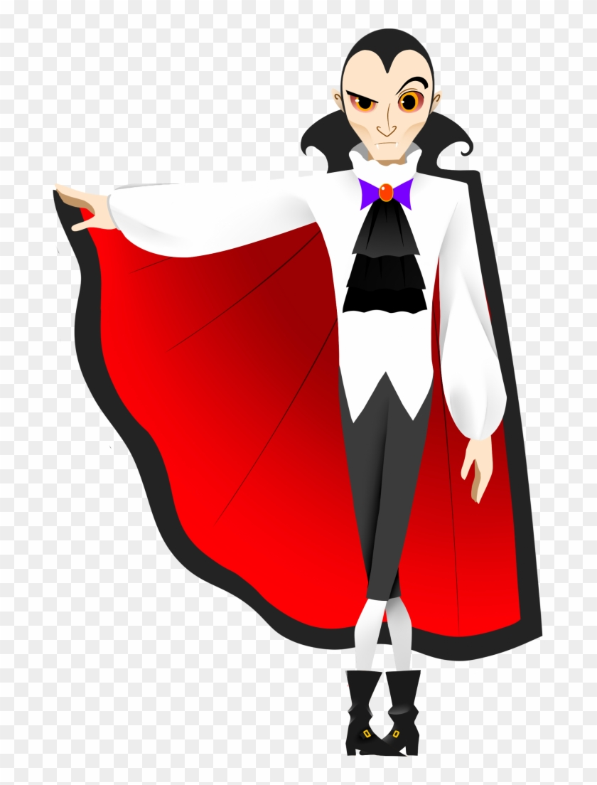 Free Dracula Clipart.