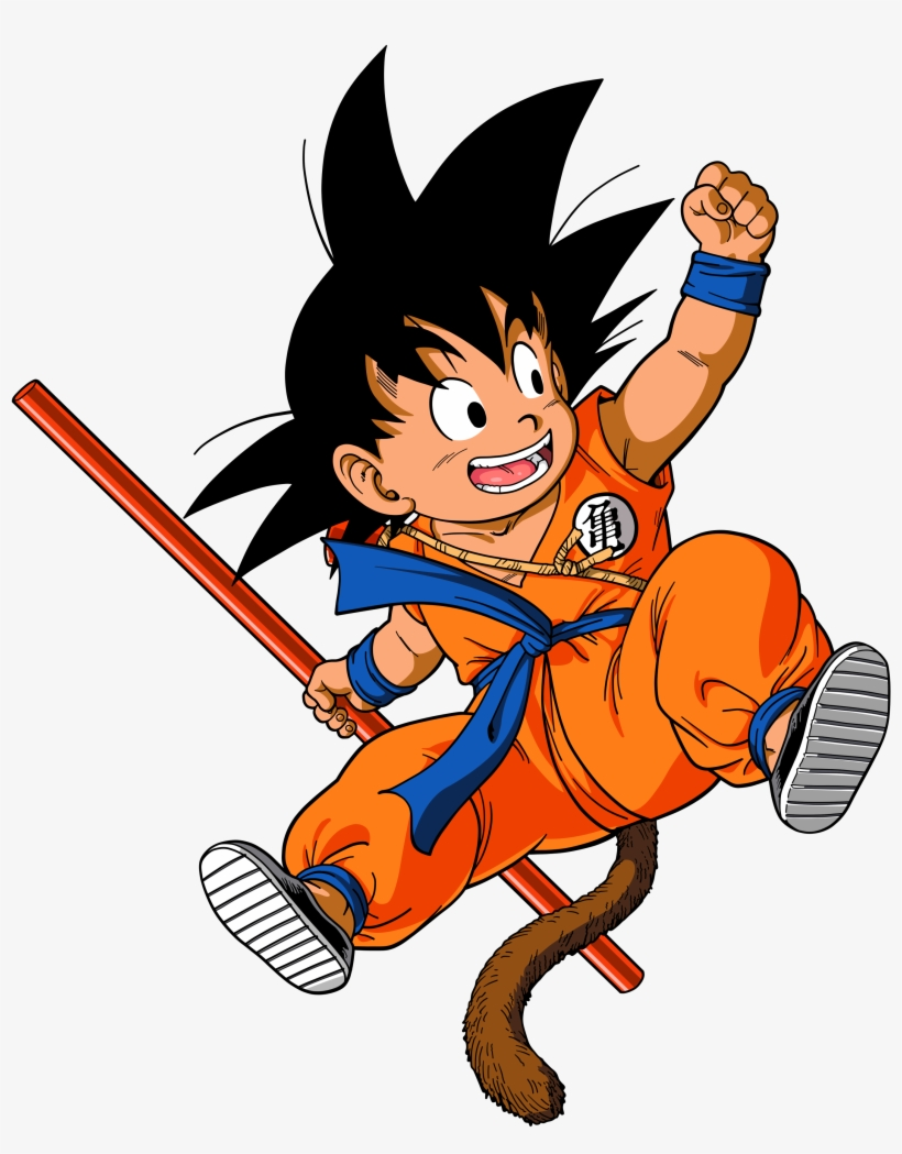 Dragon Ball Z Clipart PNG Image.