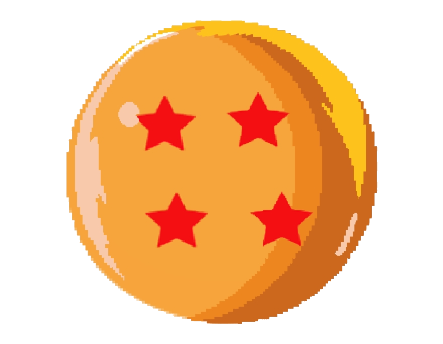 Dragon Ball Clipart Sprite Star Pattern Transparent Png.