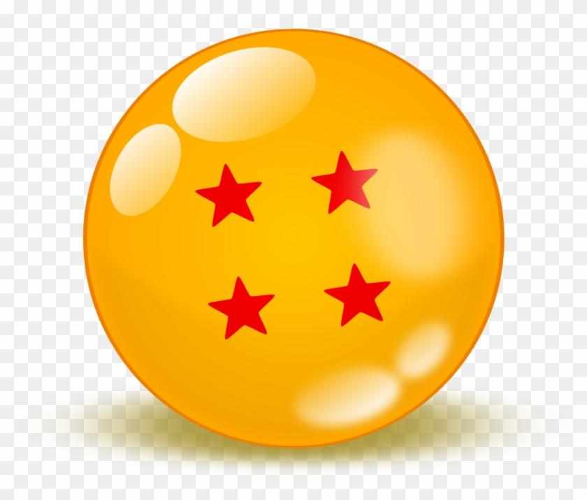 Dragon Ball Clipart 4 Star.