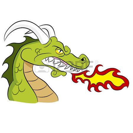 3,916 Dragon Fire Stock Vector Illustration And Royalty Free.