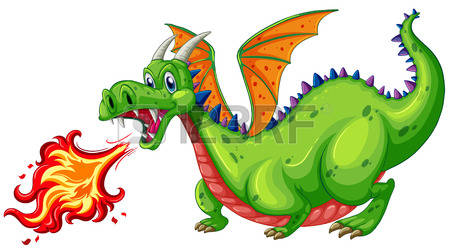 4,324 Green Dragon Stock Vector Illustration And Royalty Free.