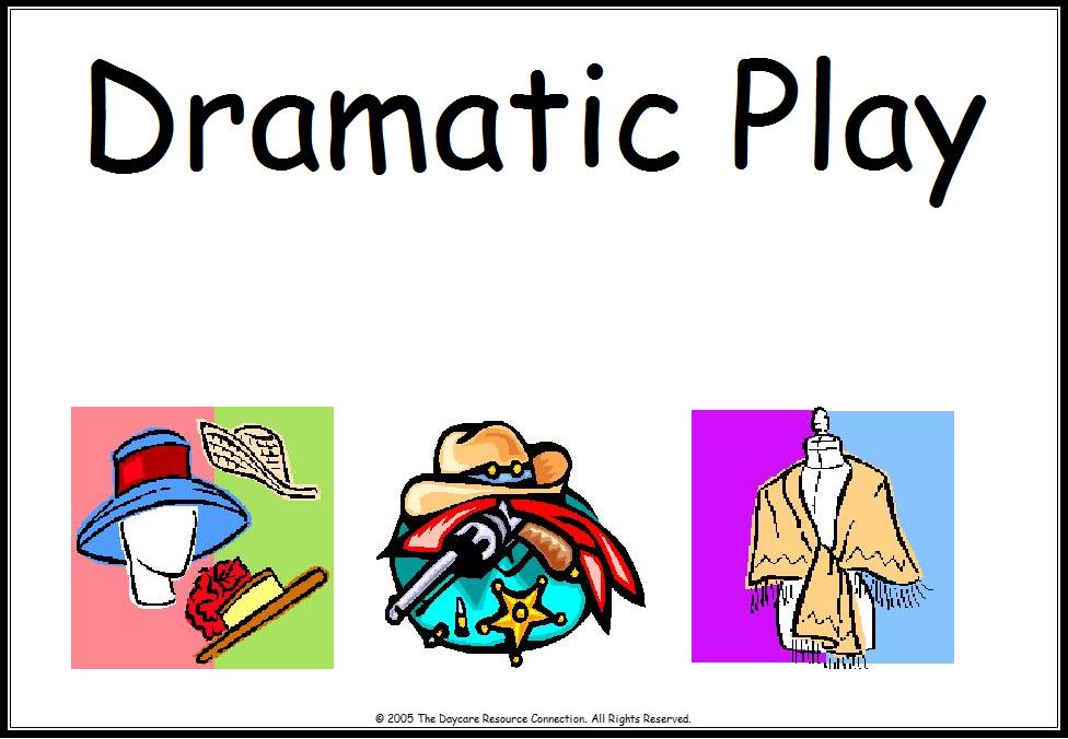 Dramatic Play juego Dramatico clipart free image.