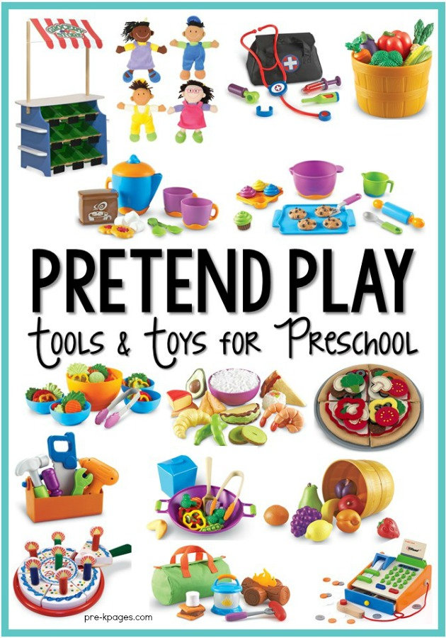 Dramatic Play Tools and Toys for Preschool.