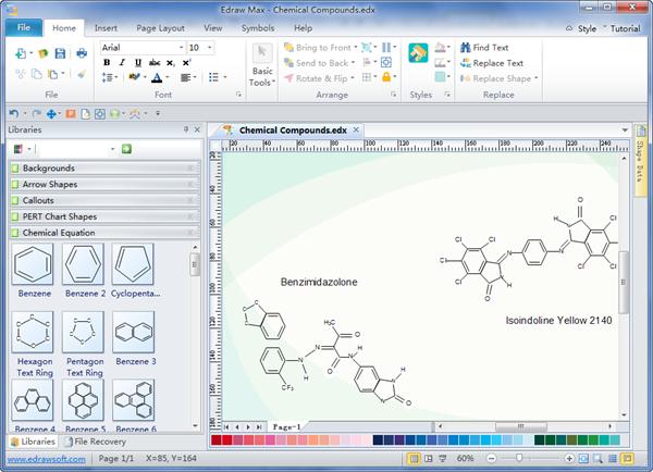 Chemistry Equation Drawing Software.