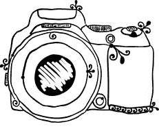 New Polaroid Camera Clipart Drawings Old Fashion.
