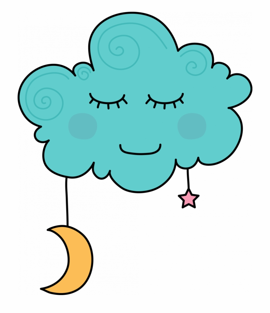 Dreaming Clipart Cloud Cartoon.