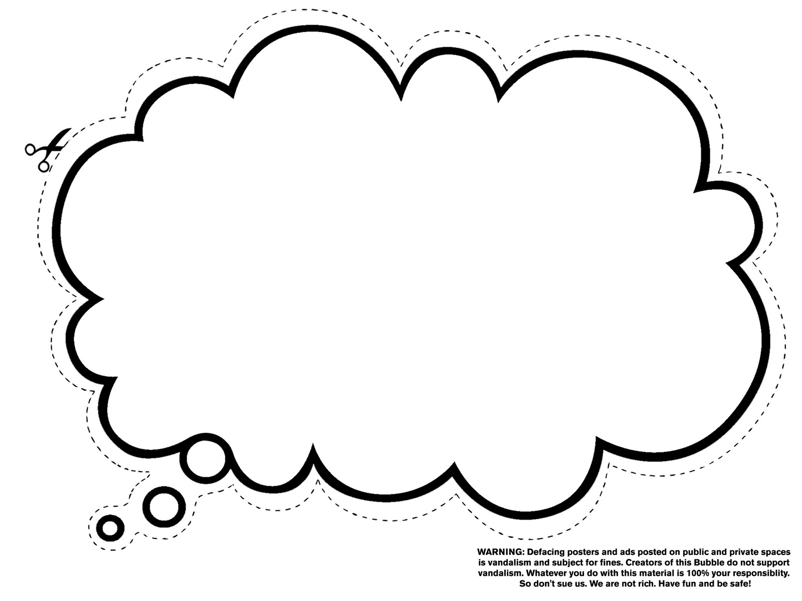 Free Thought Bubble, Download Free Clip Art, Free Clip Art on.