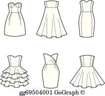 Dress Clip Art.