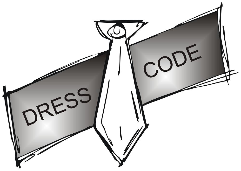 Dress Code Clipart.