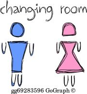 Changing Room Clip Art.