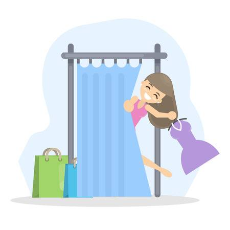 966 Changing Room Stock Vector Illustration And Royalty Free.