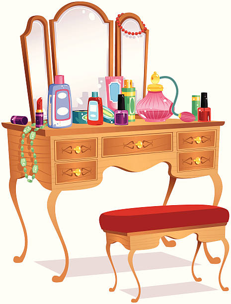 Best Dressing Table Illustrations, Royalty.