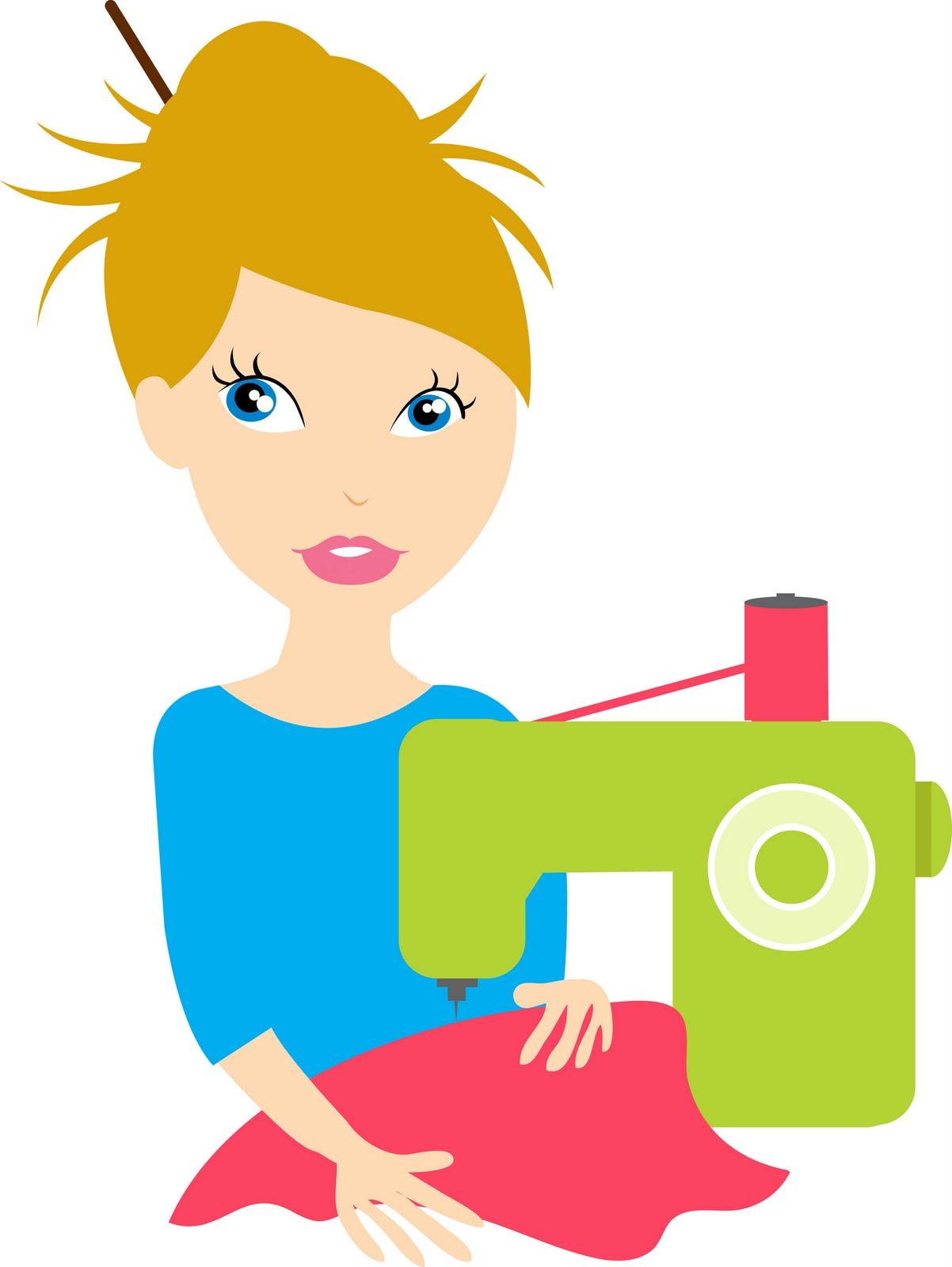 Seamstress Clip Art.