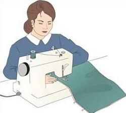 Seamstress clipart » Clipart Station.