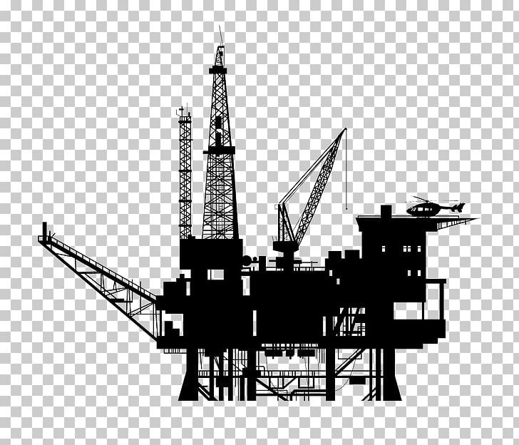 Oil platform Drilling rig Petroleum Oil well, Platform.